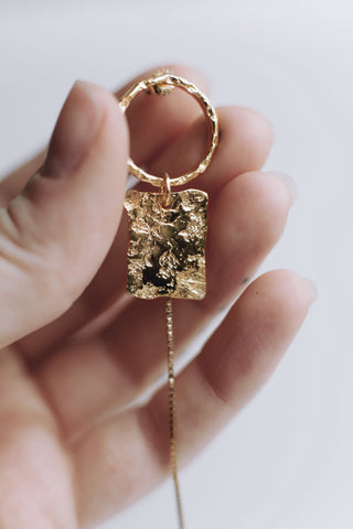 Moon Dangle Gold