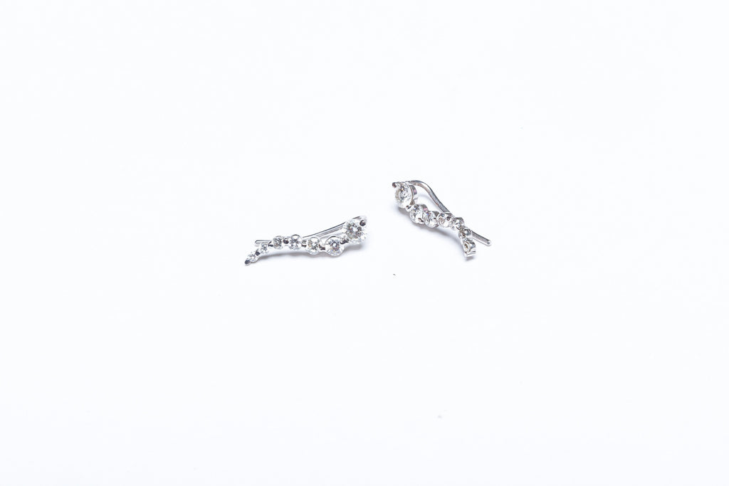 Diamond Ear-climber Earrings