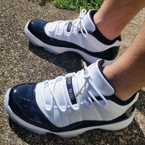 new products 63810 e05cd Laced Up Laces x Air Jordan 11 Concords