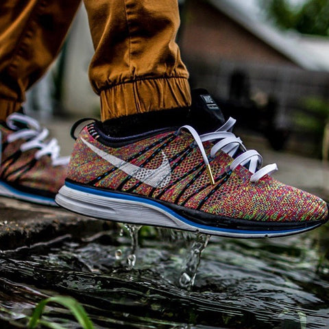 93d54e075958 Laced Up Laces x Nike Flyknit Multicolor