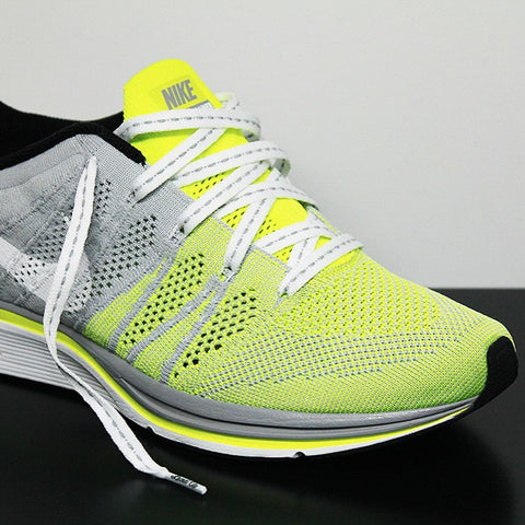 90efdf003f73 Laced Up Laces x Nike Flyknit Trainer Volt Grey