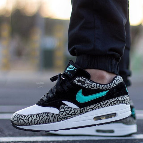 quality design 3baef 28f1f Laced Up Laces x Nike Air Max 1 ATMOS - Elephant