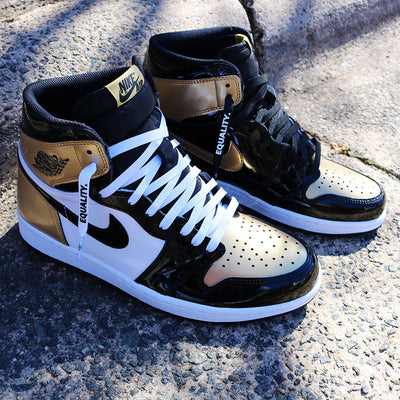 e11fe0173684 authentic custom air jordan 4 7e143 ae648  norway laced up laces jordan 1  equality shoelaces a7892 2846f