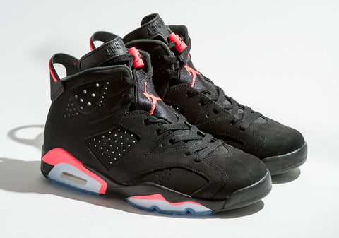 124119f590d Air Jordan 6 Black/Infrared Release – Laced Up Laces