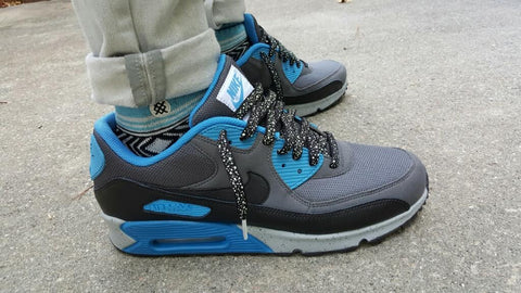 new product 7b754 dcd7a Laced Up Laces x Custom Air Max 90