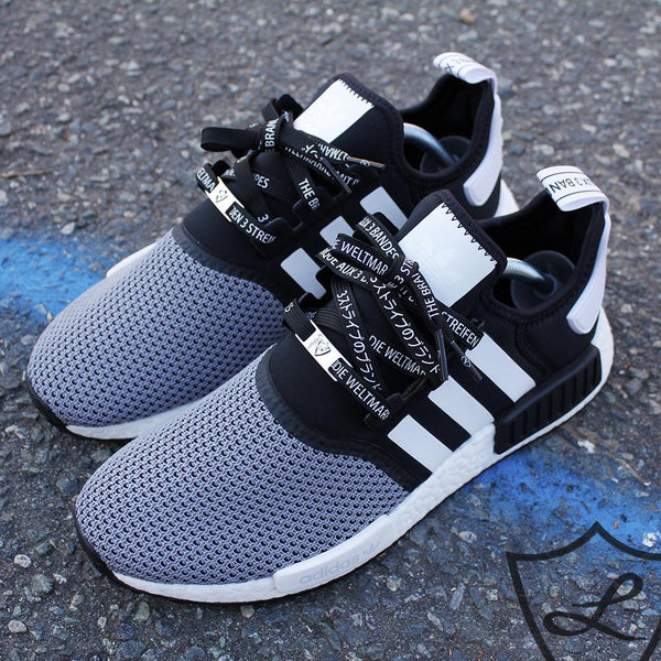 Adidas NMD shoelaces | Adidas NMD laces | Japanese katakana laces | Laced Up Laces