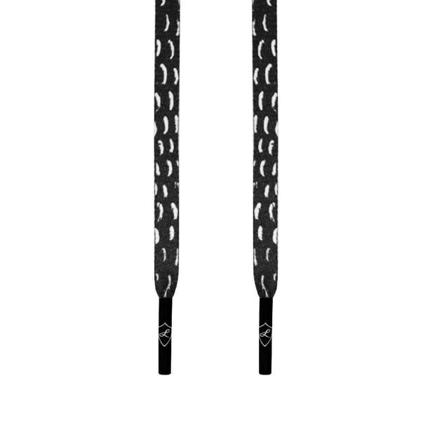 SNAKESKIN LACES - BLACK