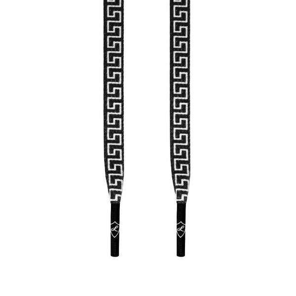 BLACK VERSACE LACES