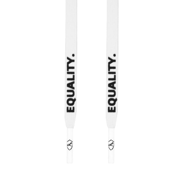 EQUALITY LACES - WHITE