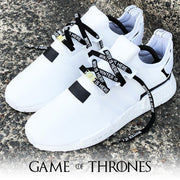 """WINTER IS HERE"" BLACK LACES"