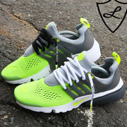"WHITE/VOLT DIPPED ""SHOELACES"""