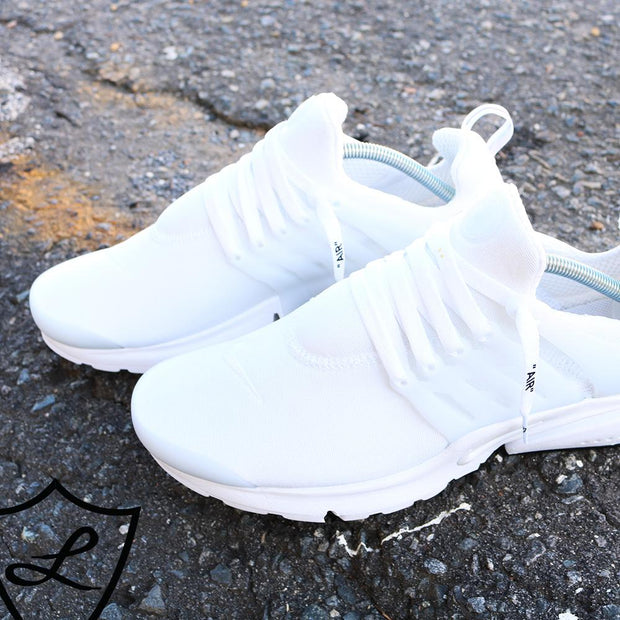 "WHITE ""AIR"" LACES"