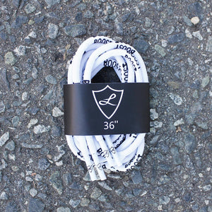 White Boost Rope Shoelaces