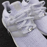 White/Gray Cement Laces , Custom Laces - Laced Up, Laced Up Laces   - 2