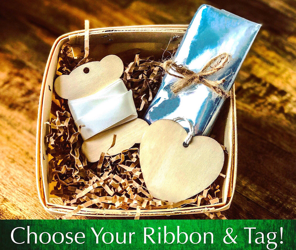 DIY Gift Basket Wrapping Kit - Satin Ribbon