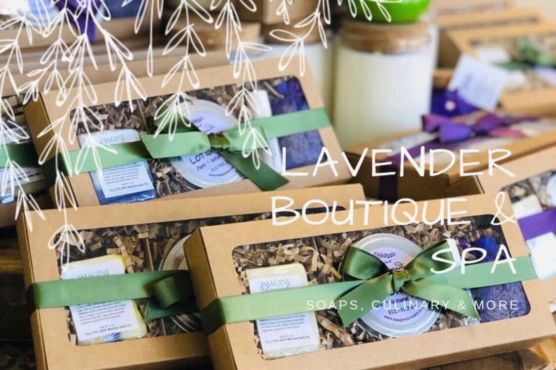 A ~ Lavender Skin Care Gift Box