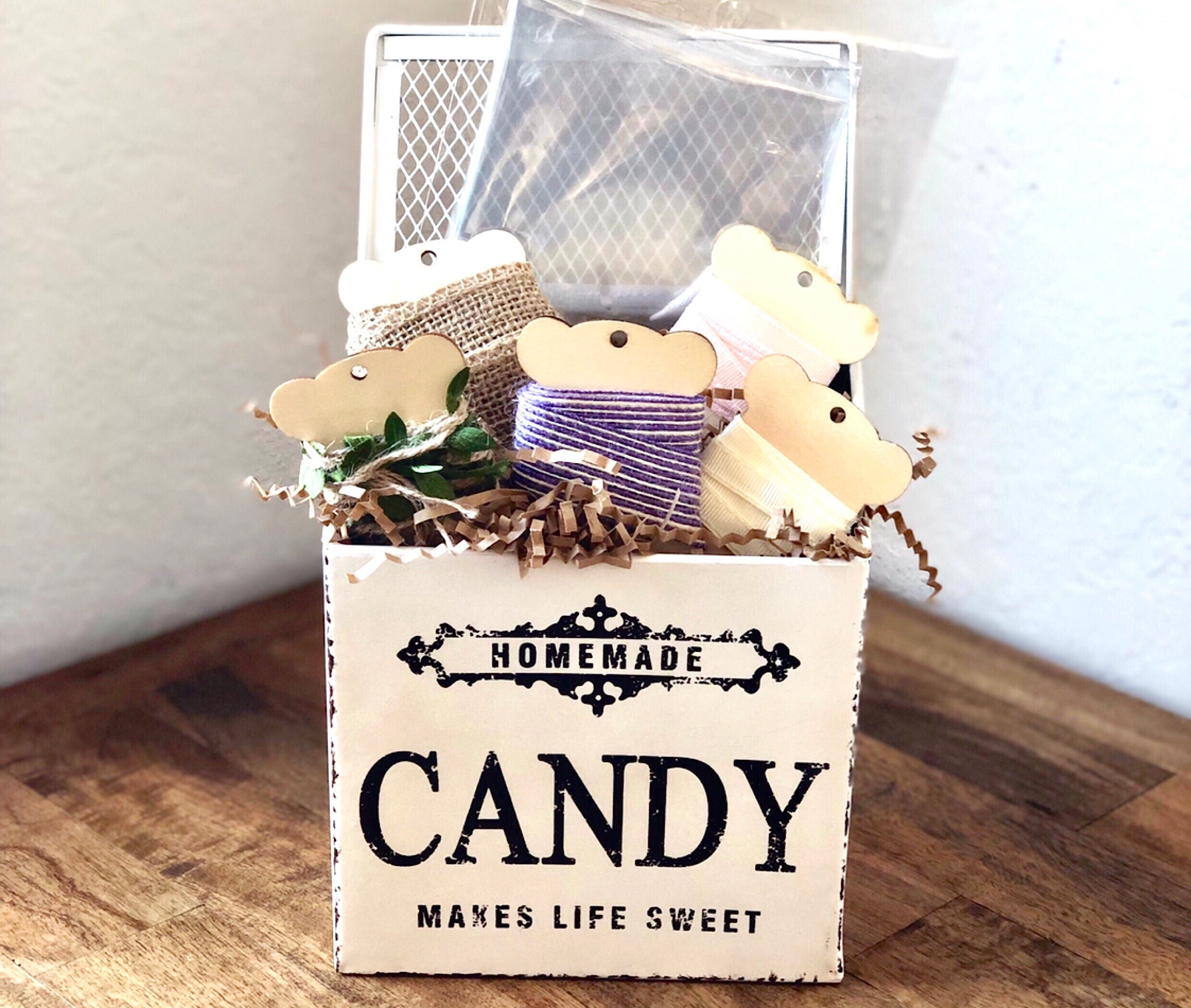 Vintage Style Candy Box ~ Only 2 Available!