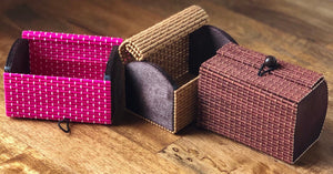 1 Handmade Bamboo Gift Box-3 Color Choices
