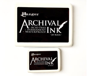 Black Archival Ink Pad ~ Extra Large
