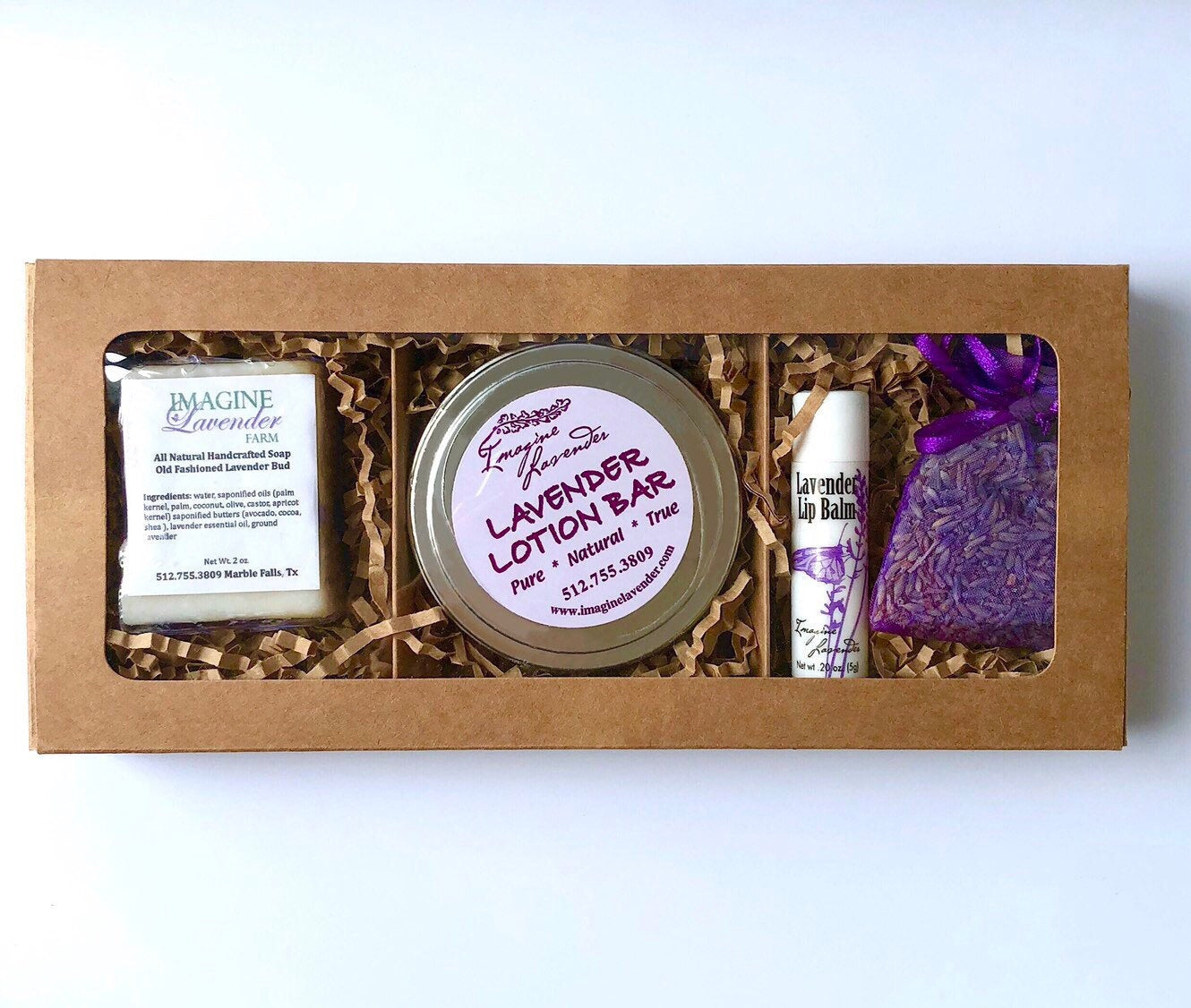 LM ~ Lavender Skin Care Gift Box