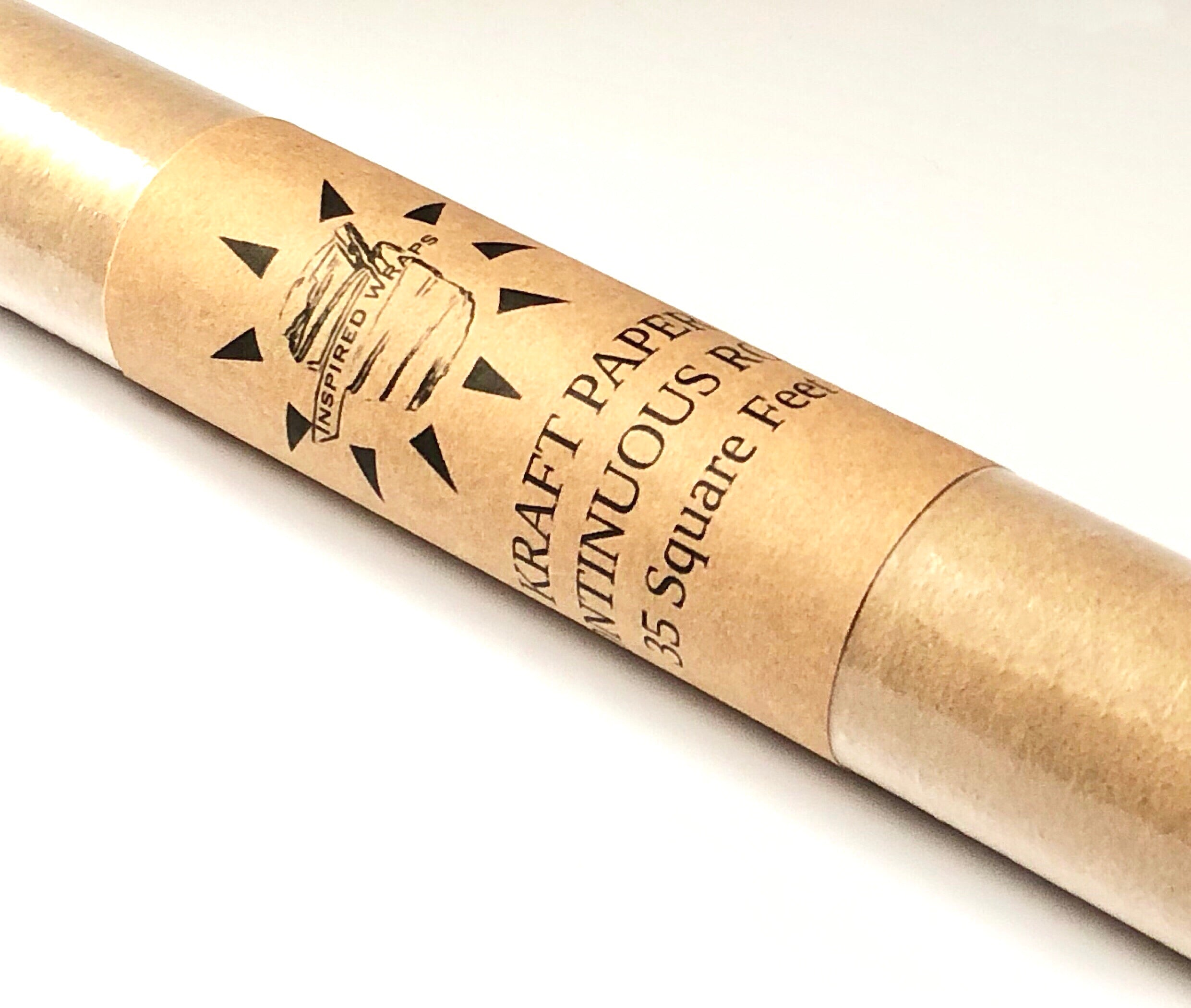 "Kraft Paper Roll ~ Continuous 30""x4.6"""