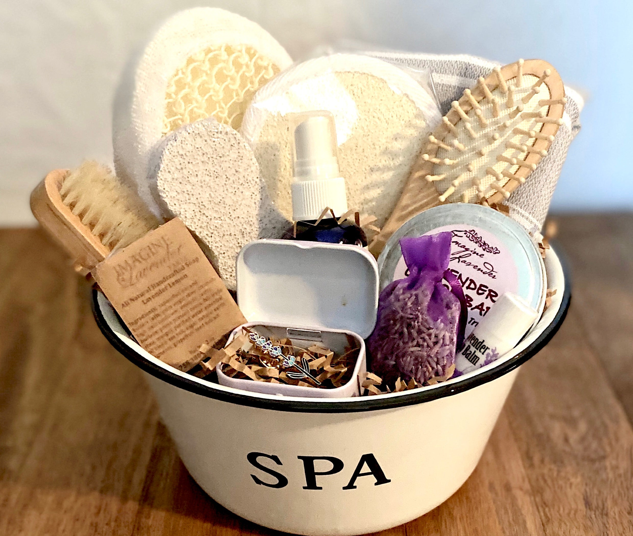 LM ~ Lavender Spa Set