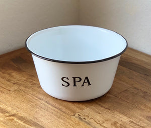 Enamel Spa Bowl