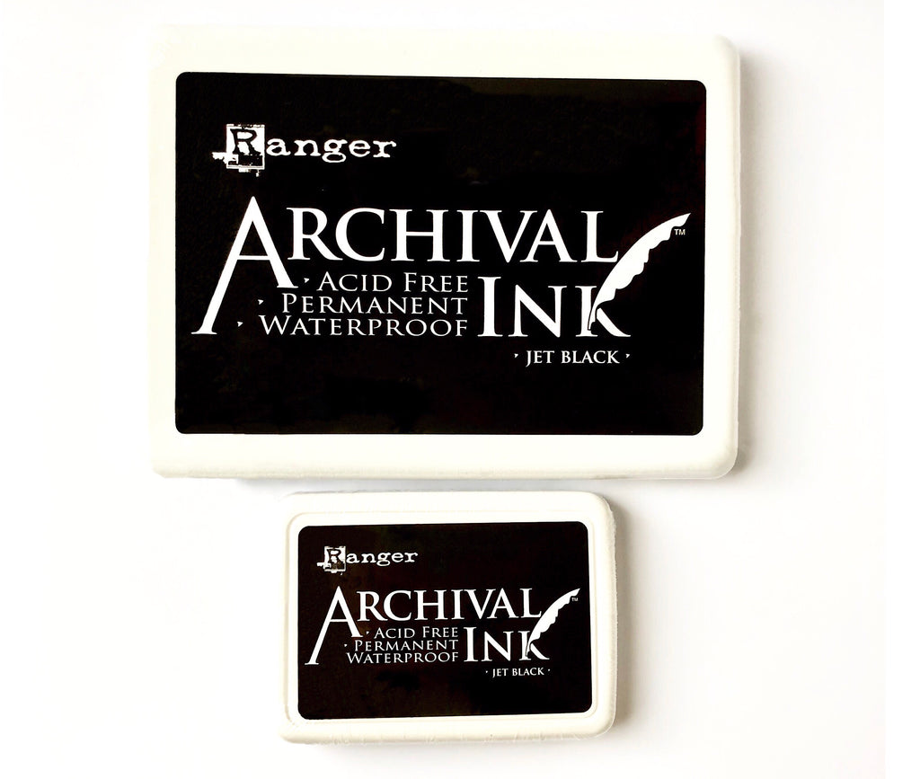 Black Archival Ink Pad ~ Standard Size