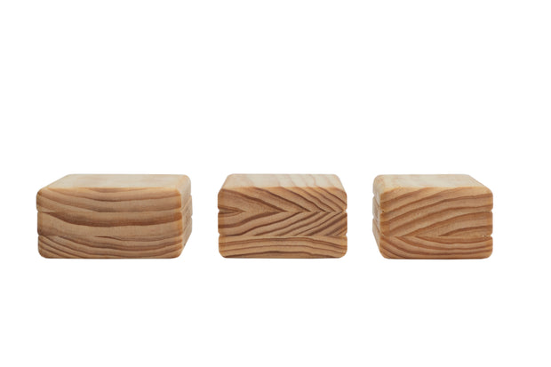 Buy wood handstand blocks in 3 sizes: small, medium, and large.