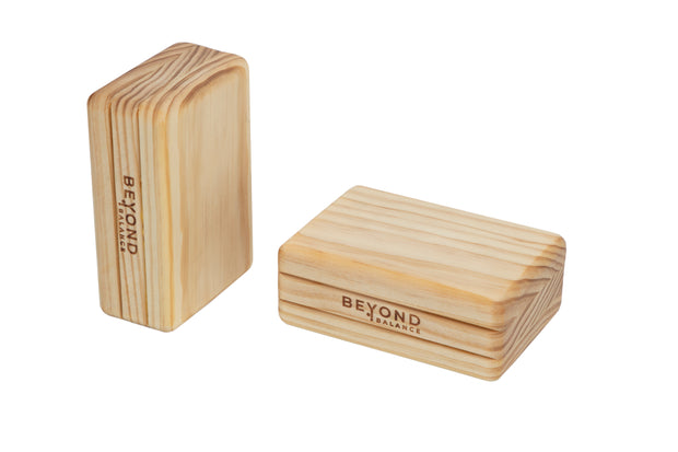 ECO Solid Pine Wood Handstand Blocks