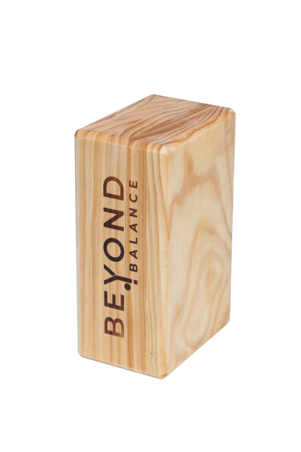 ECO Wood Yoga Block