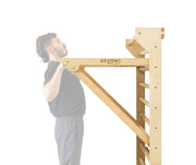 Personal Training Stations: ECO Wood Stall Bars, Pull-Up Dip Bar, Parallettes