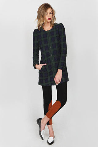 "<img src=""Harlyn-Label-Green-Plaid-Tartan-Georgette-Coat-Fall-Winter-2014-Grey-Parachutes-Front-Image.jpg"" alt=""Harlyn Label Hunter Green Plaid Tartan Georgette Coat Jacket Fall Winter 2014 Grey Parachutes Front Image"">"
