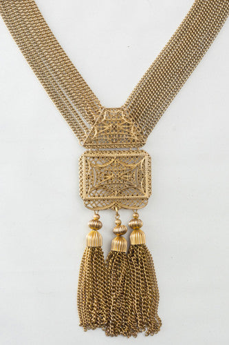 "<img src=""Vintage-1940-Tasseled-Perforated-Plate-Multi-Strand-Necklace-Pendant-Close-Up.jpg"" alt=""Vintage 1940 Tasseled Perforated Plate Multi Strand Necklace Pendant Close Up"">"