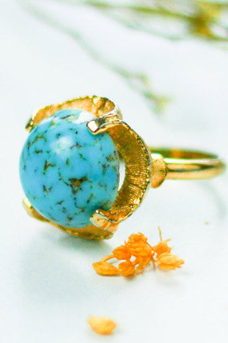 "<img src=""Vintage-1960-Marbled-Turquoise-Venetian-Glass-Ring.jpg"" alt=""Vintage 1960 Marbled Turquoise Venetian Glass Ring"">"
