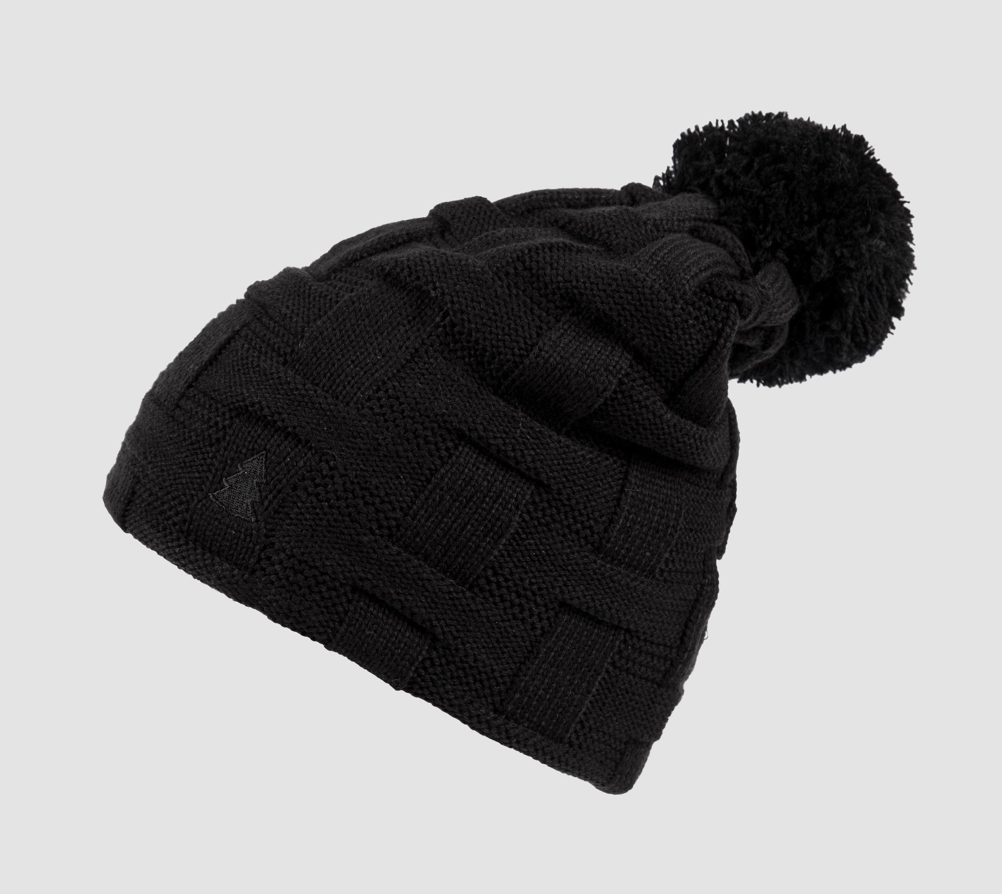 BRAID Beanie Black