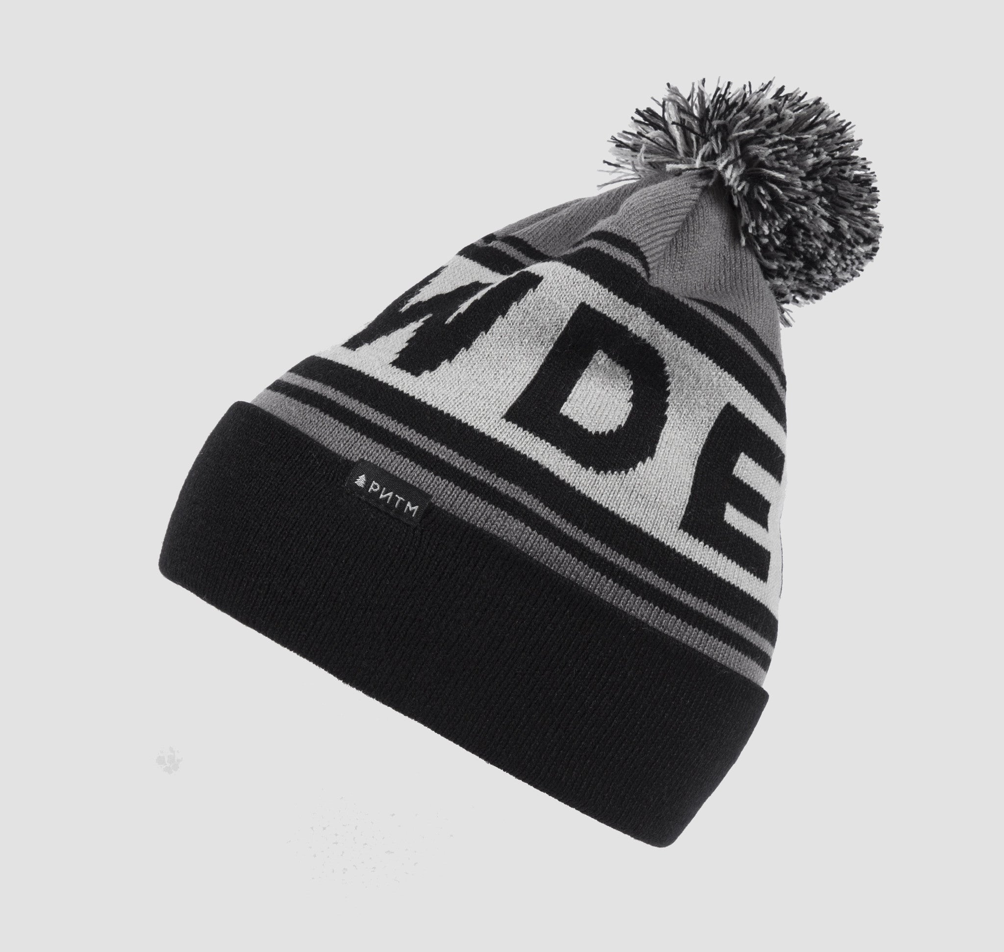 POWDER Beanie Grey-Black