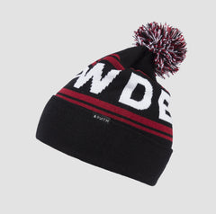 POWDER Beanie Red-Black