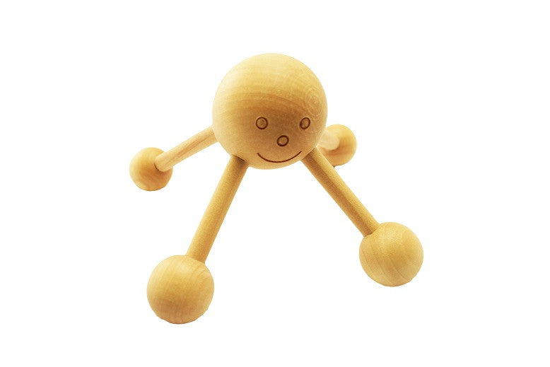 Happy Face Wooden Massager (3 Pack)