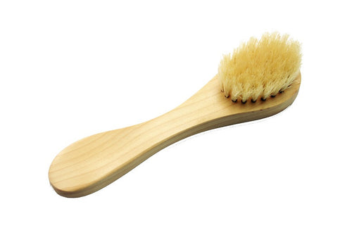 Natural Bristle Complexion Brush, Wood
