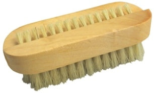 Wood Nail Brush, Oval