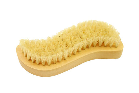 Wood Nail Brush, S-shape