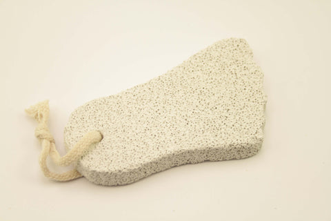 Pumice-on-a-rope, Foot Shape