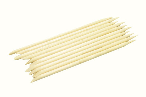 Cuticle Sticks, 115mm, 10pk