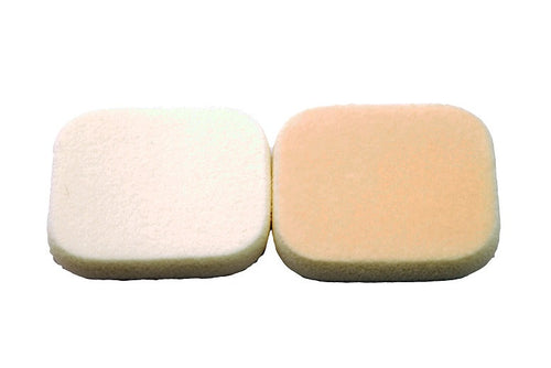 Flock Foundation Sponges, 2pk