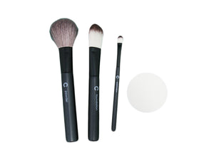 Cosmetic Brush kit - 3pcs