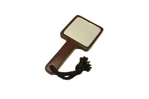Bamboo Handle Mirror