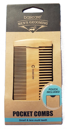 Men's Pocket Comb W/ Pouch