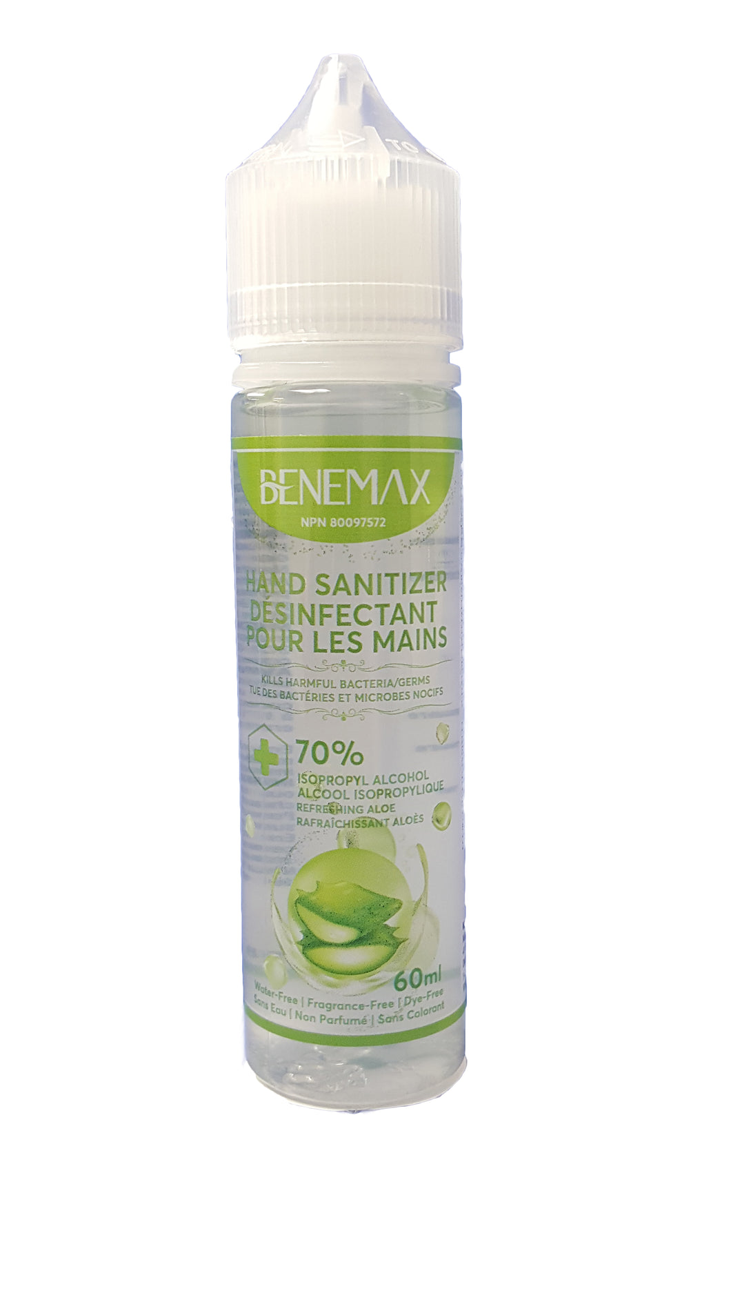Benemax Hand Sanitizer, 60ml
