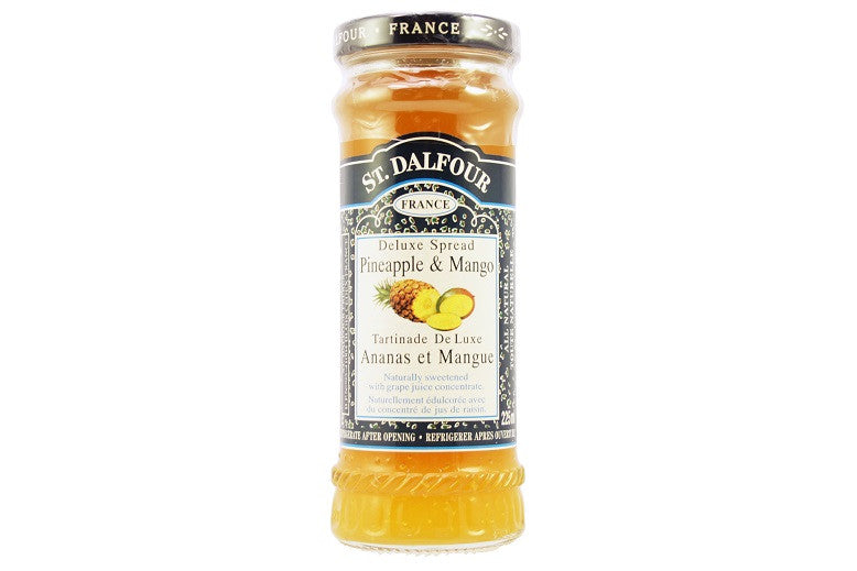 St. Dalfour Pineapple Mango Conserve, 225ml
